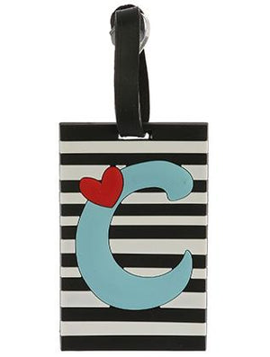 Letter C Rubber Bag Tag General Merchandise