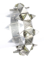 Age Finish  Spike Stretch Bracelet