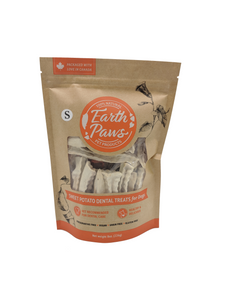 Sweet Potato Dental Treats for Dogs - Earth Paws Pet Products