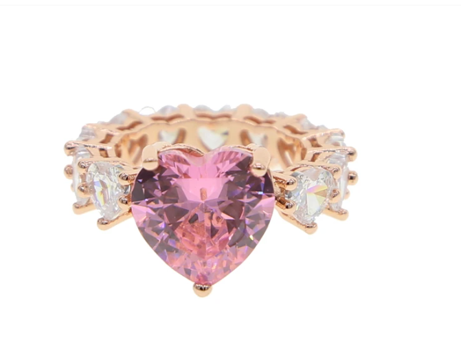 majeste heart ring