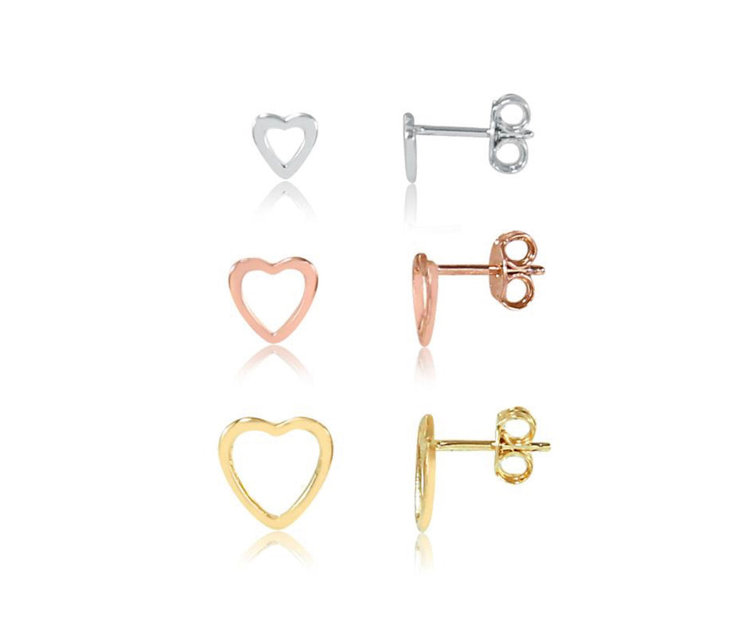 Trio heart earring kit