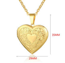 Load image into Gallery viewer, gold plated locket 2.0