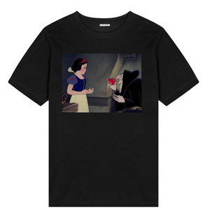 snow white and witch t- shirt