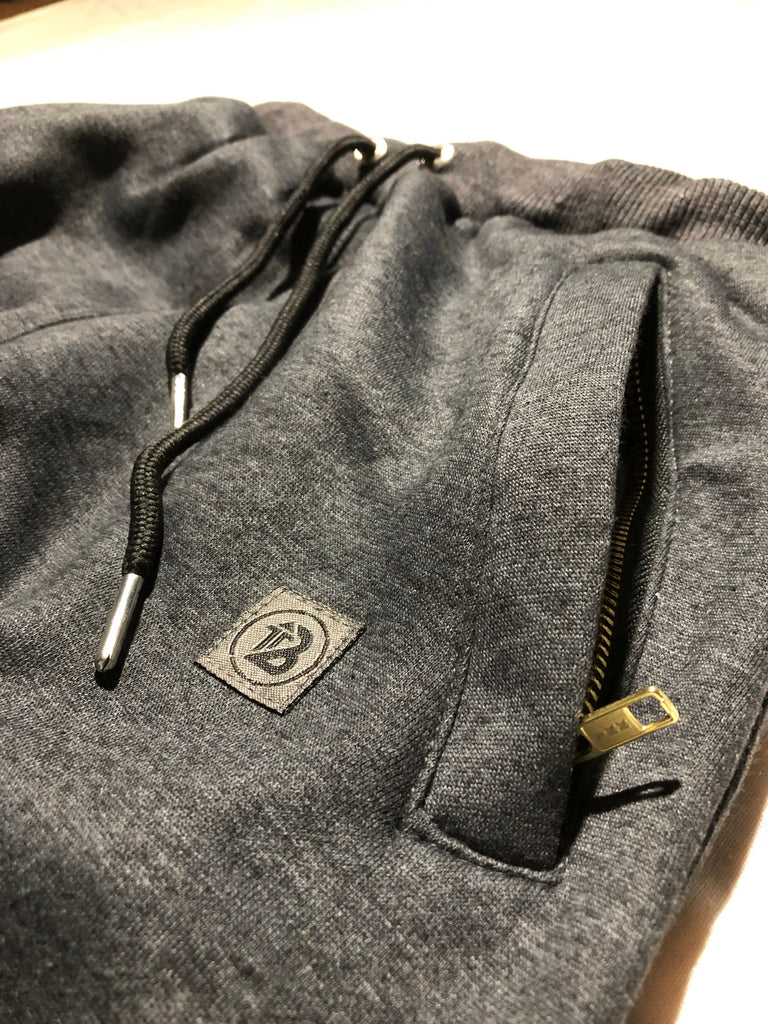 Charcoal Cuffed Jogger - Boost® | SHOP