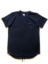 Navy Blue Drawstring Tee - Boost® | SHOP