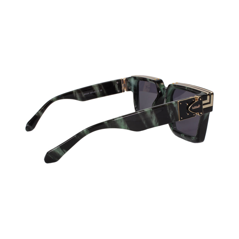 Billionaire Sunglass | Marble Green - Boost Athletics®