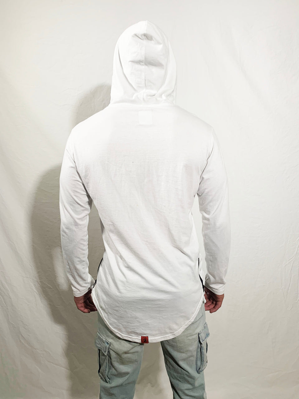 White Pullover Hoodie - Boost® | SHOP