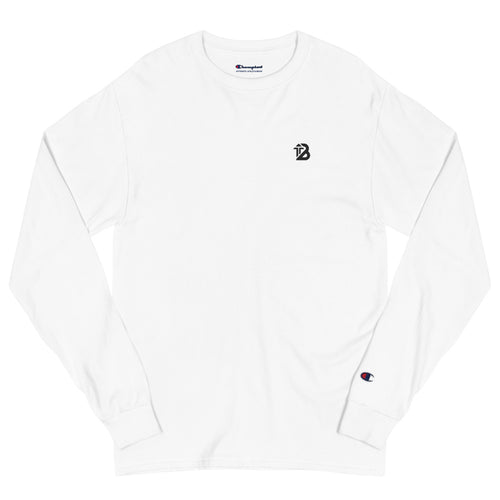 Champion x Boost Design® Long Sleeve Shirt | White - Boost® | SHOP