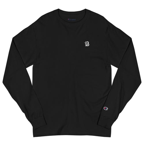 Champion x Boost Design® Long Sleeve Shirt | Black - Boost® | SHOP
