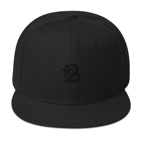 Snapback Hat Jet Black - Boost Athletics®
