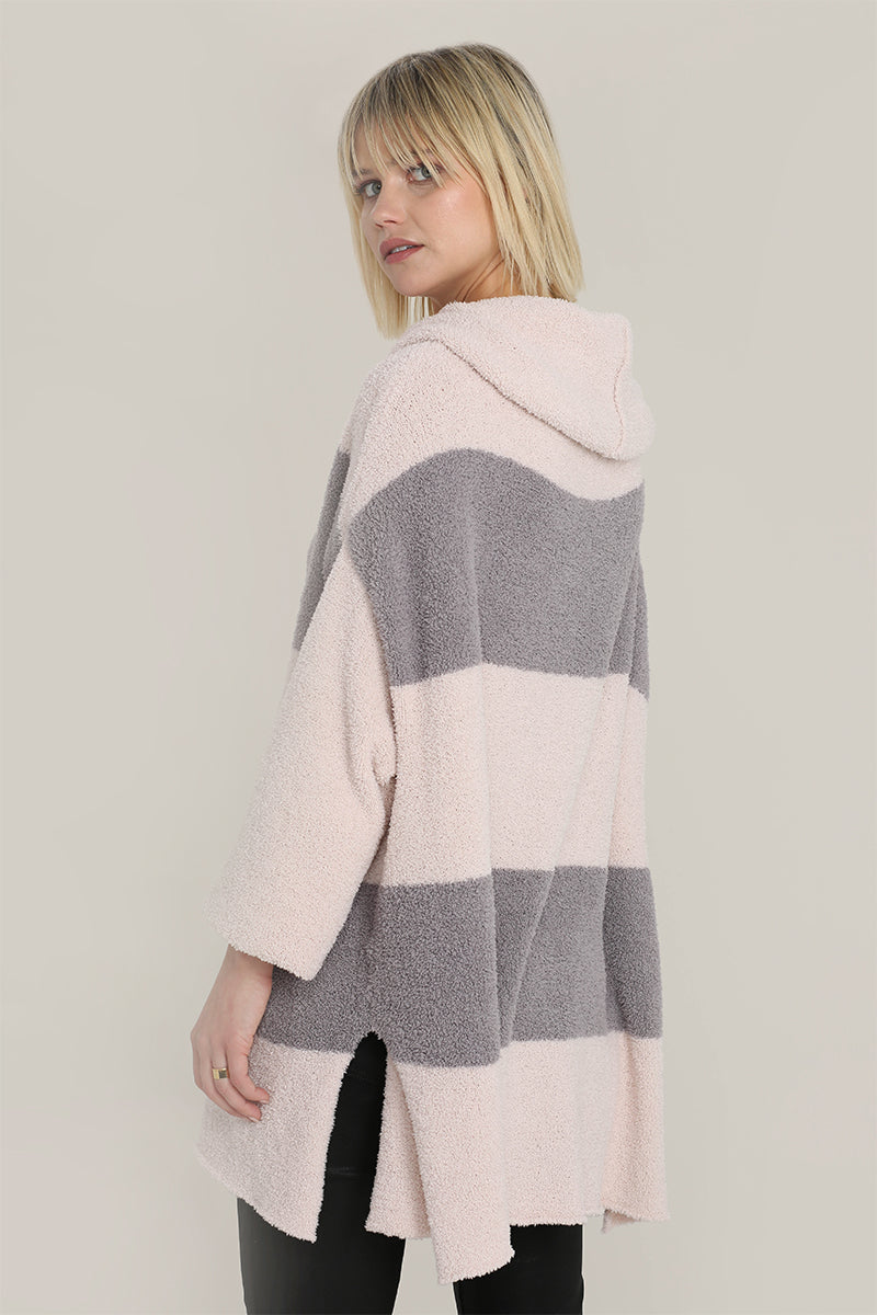 Stripe Tunnel Neck Sweater