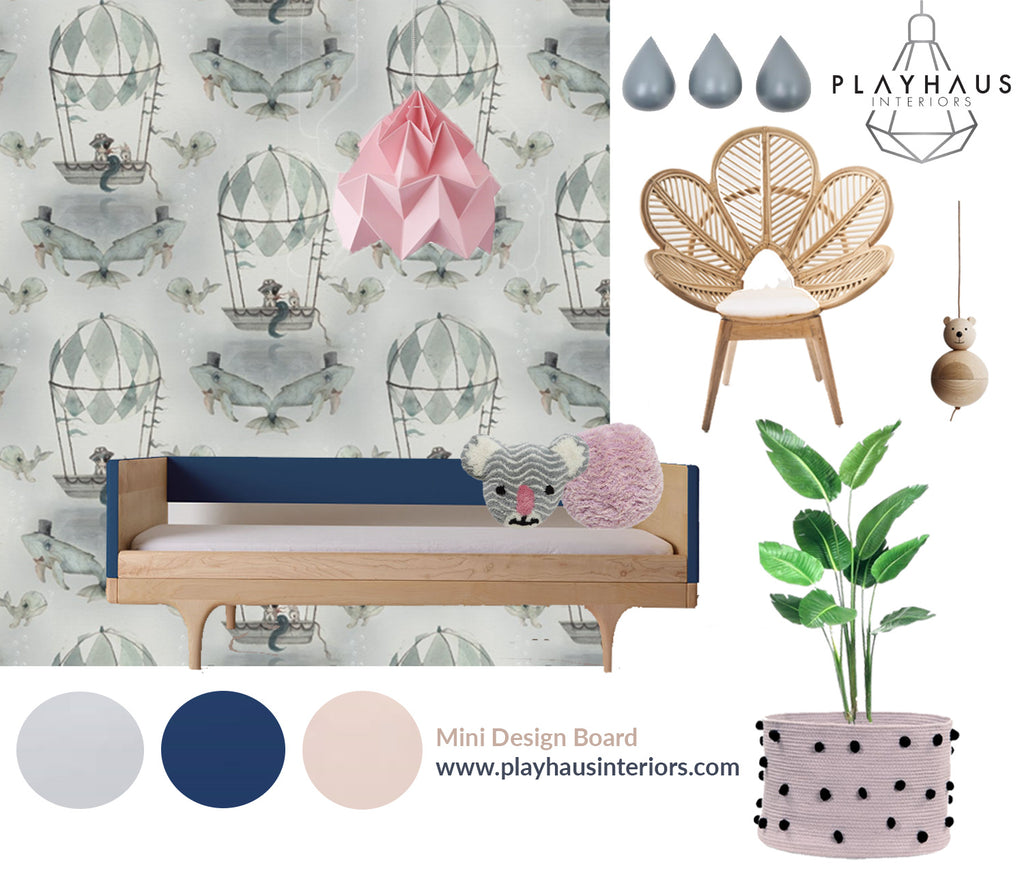 Playhaus Style Mood board