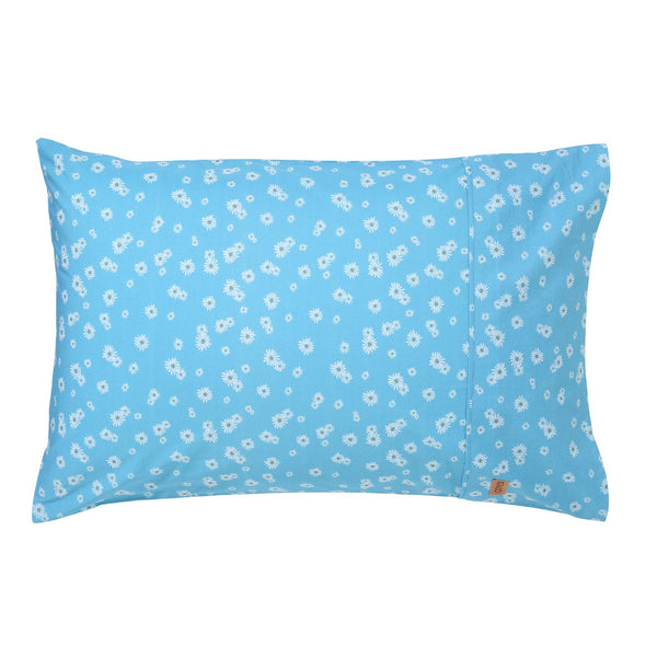 Kip & Co - Lazy Daisy Cotton Pillowcase - Playhaus Interiors