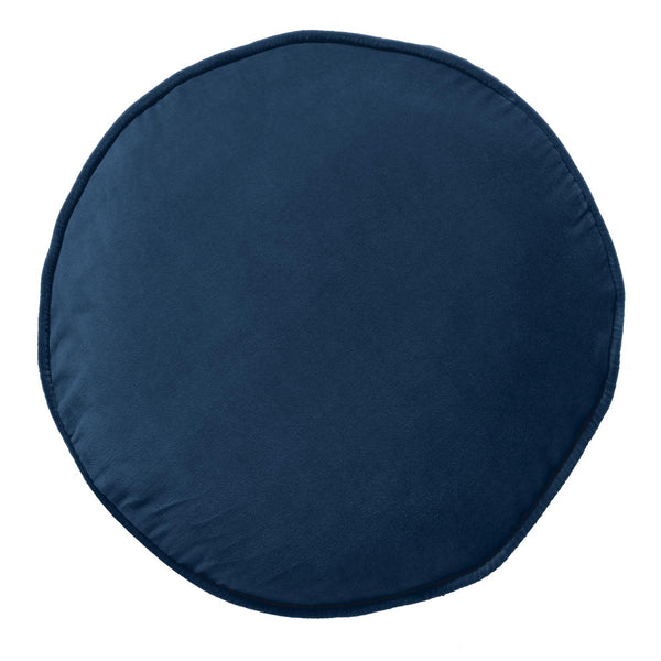 Kip & Co - Velvet Pea Cushion - Petrol Blue - Playhaus Interiors