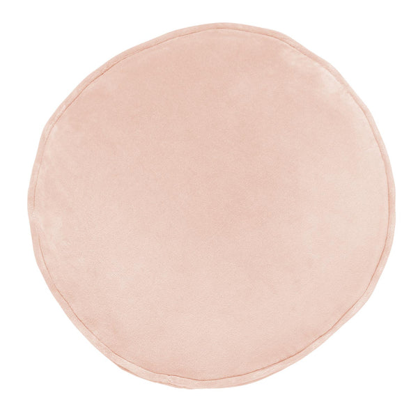 Kip & Co - Velvet Pea Cushion - Peach Skin - Playhaus Interiors