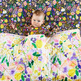 Kip & Co Meadow Cotton Fitted Sheet - Cot - Playhaus Interiors