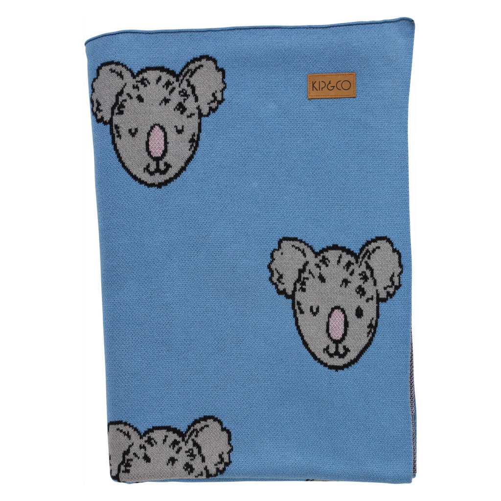 Kip & Co - Koala 100% Cotton Blanket - Playhaus Interiors