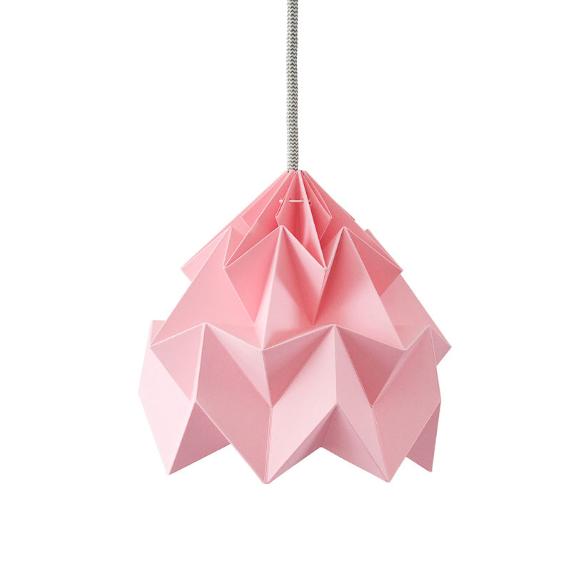 Snowpuppe Moth Lamp - Pink - Playhaus Interiors