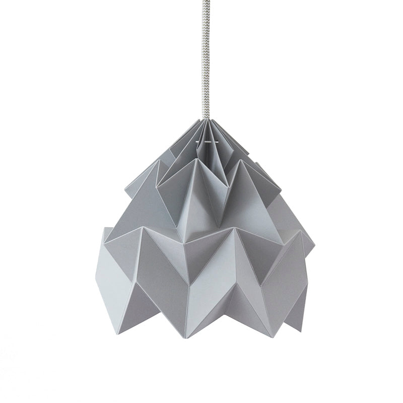 Snowpuppe Moth Lamp - Grey