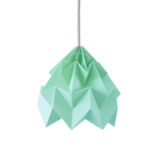 Snowpuppe Moth Lamp - Mint - Playhaus Interiors