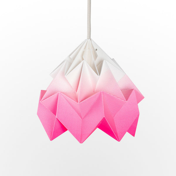 Snowpuppe Moth Lamp - Gradient Pink - Playhaus Interiors