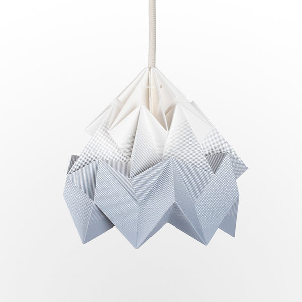 Snowpuppe Moth Lamp - Gradient Grey