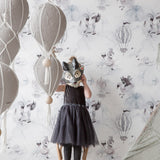 Mrs Mighetto Wallpaper - Oh Cloud - Playhaus Interiors