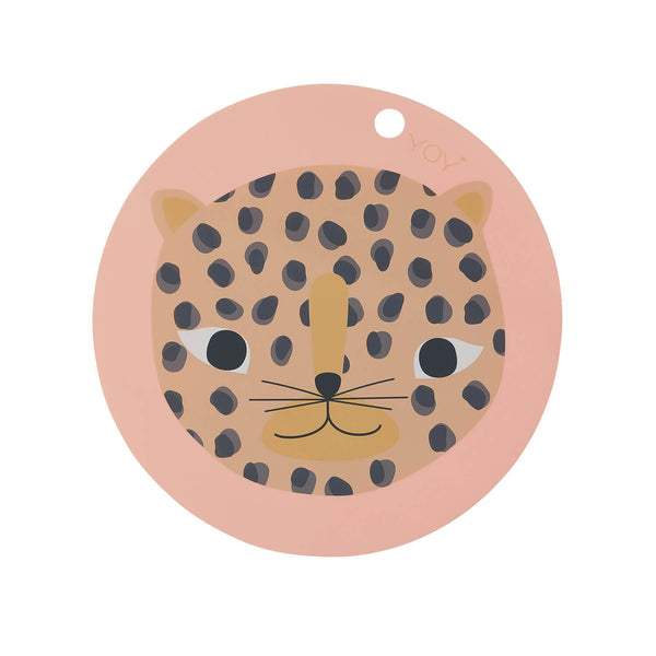 OYOY Snow Leopard Placemat - Playhaus Interiors