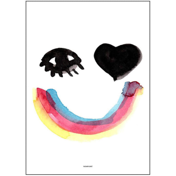 Pax & Hart Print - Heart Eyes - Playhaus Interiors