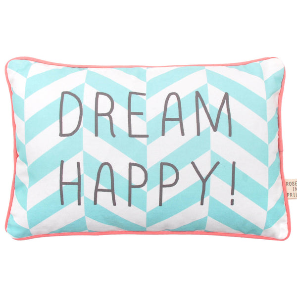 Rose in April - Dream Happy Cushion - Playhaus Interiors