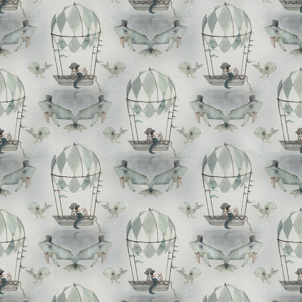 Mrs Mighetto Wallpaper - Flying Boat - Playhaus Interiors
