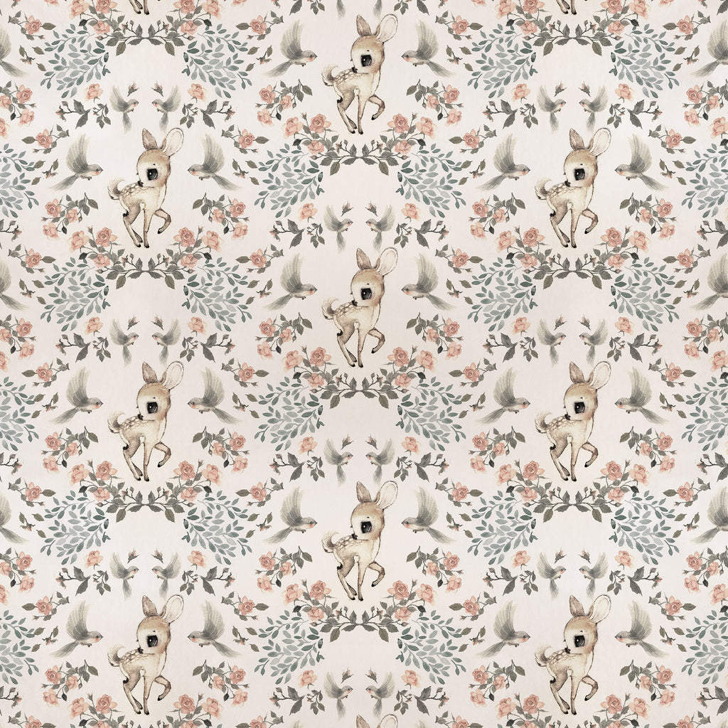 Mrs Mighetto Wallpaper - Garden Oh Deer