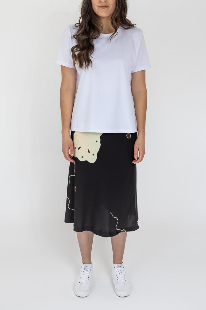 Killara Silk Skirt - My Home