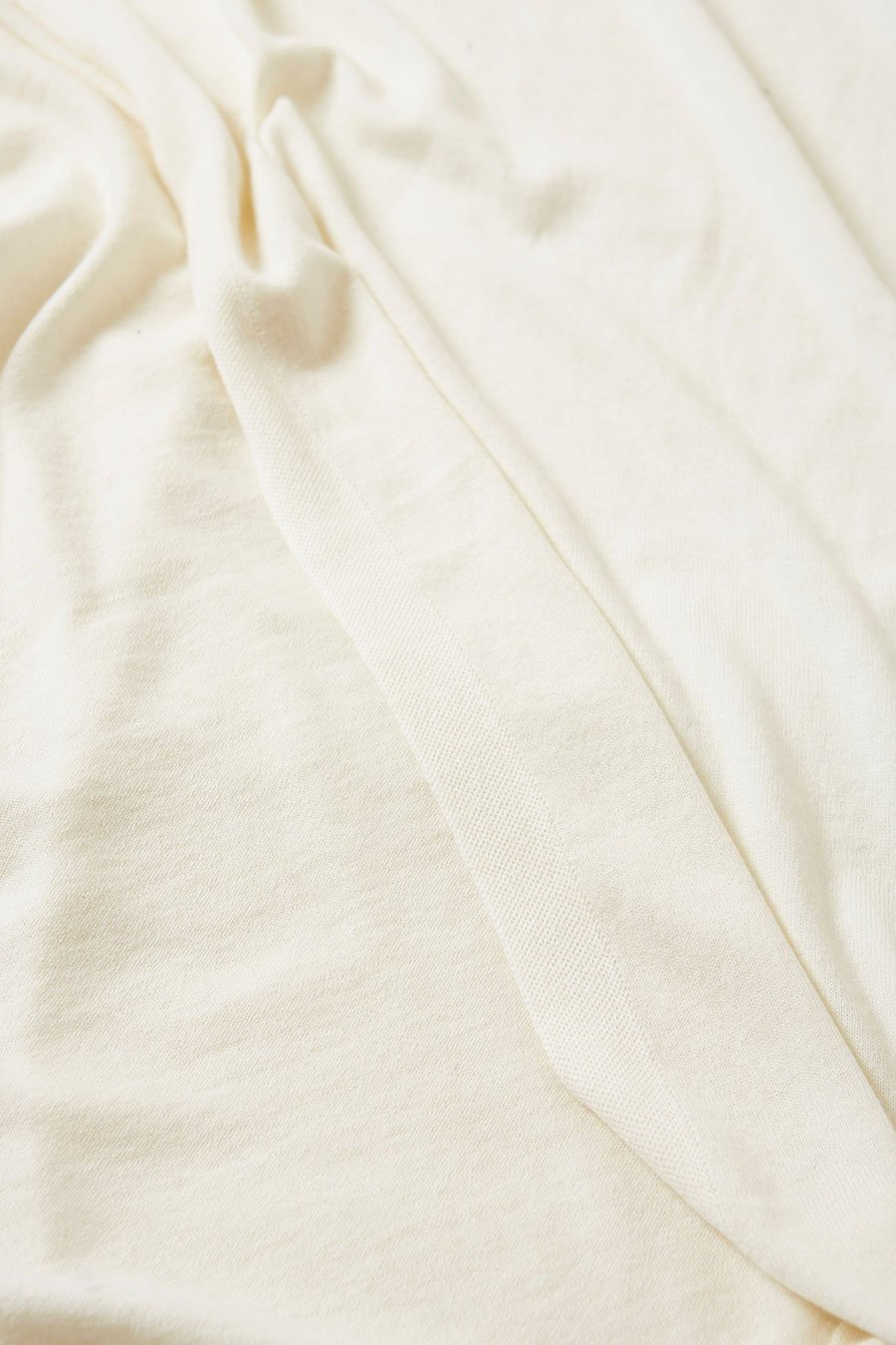 Cotton/Cashmere Wrap - Cream