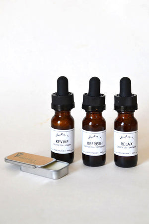 Castor Oil - Sample Set