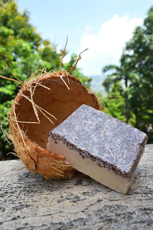 Toasted Coconut Scrub Soap