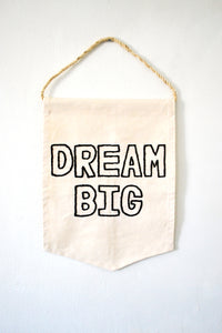 Embroidered Banner - Dream Big
