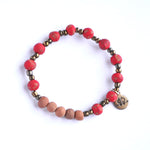 Diffuser Bracelet - Speckled Red
