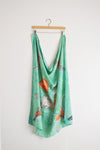 Watercolor Scarf - The Garden