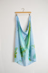 Watercolor Scarf - Underwater