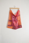 Watercolor Neck Scarf - Warm Abstract