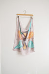Watercolor Neck Scarf - Evening Bloom