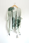 Watercolor Kimono - Lily Of The Valley