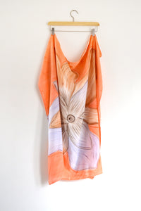 Watercolor Square Scarf - Spring Bloom