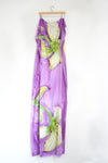Watercolor Long Scarf - Wildflower Trail