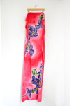 Watercolor Long Scarf - Forget-me-not