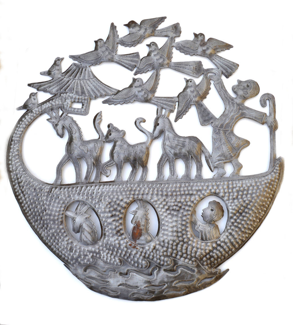 Noah's Ark Metal Art