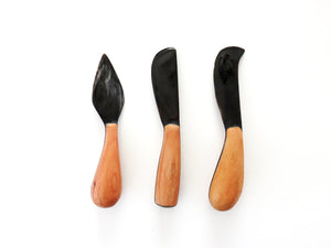 Cheese Knife Set - Dark