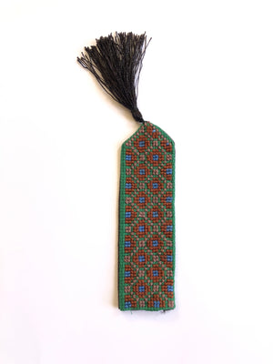 Syrian Bookmark- Green