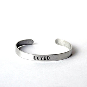 Aluminum Cuffs - Loved